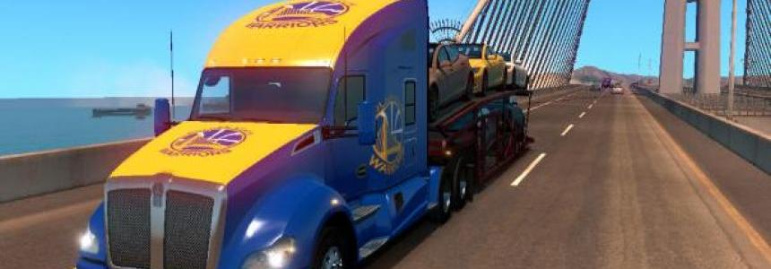Golden State Warriors Skin Kenworth T680