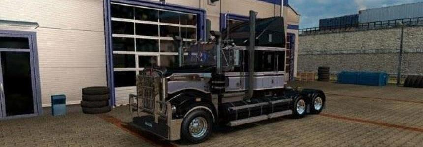 Grey HHA skin for the Kenworth T908
