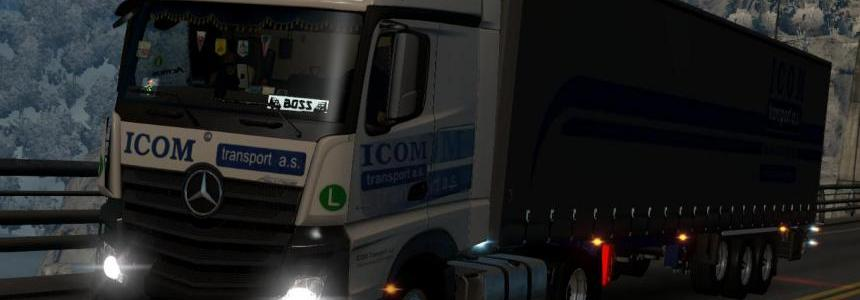 Icom Transport Mp4 combo skin 1.22.x