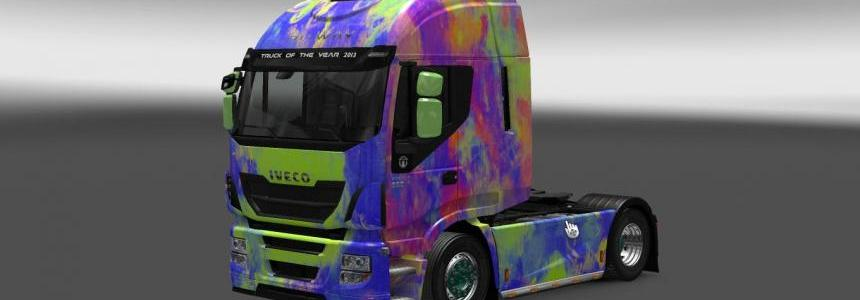 Iveco Hi-Way Abstract Skin