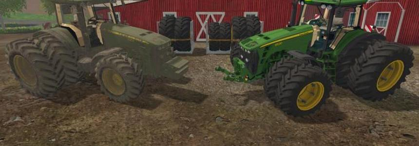 John Deere 8530 v4.0 European Dirt