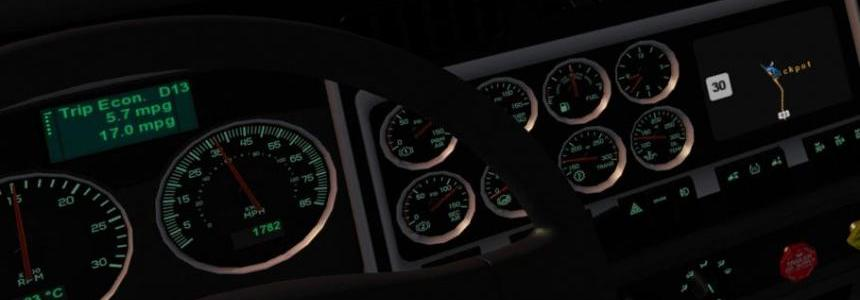 Kenwort W900 Dashboard