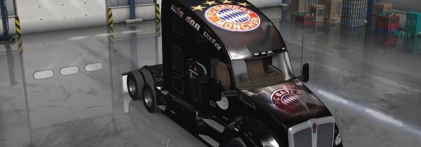 Kenworth T680 FC Bayern Munich Skin