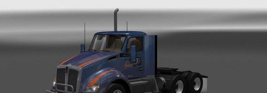 Kenworth T680 from ATS for ETS2