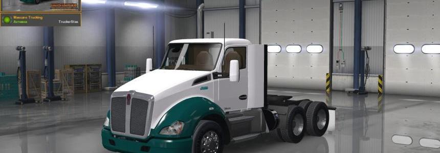 Kenworth T680 Mascaro Trucking Skin