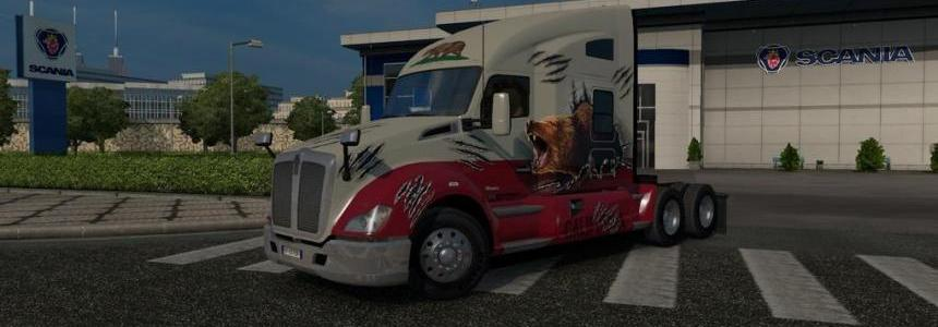 Kenworth T680 Reworked 1.22.x