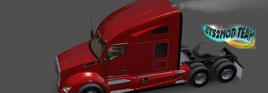 Kenworth T680 with smoke & AI Traffic