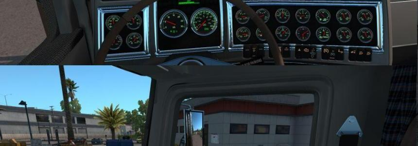 Kenworth T800 Interior v1.0.0