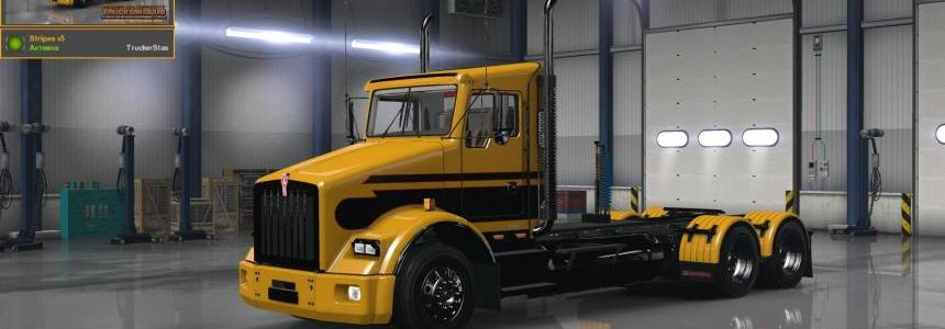 Kenworth T800 Stripes v5 Skin