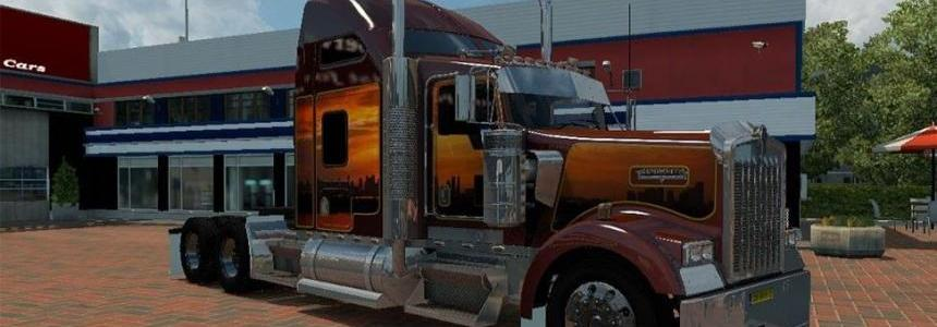 Kenworth W900 Fron ATS Update