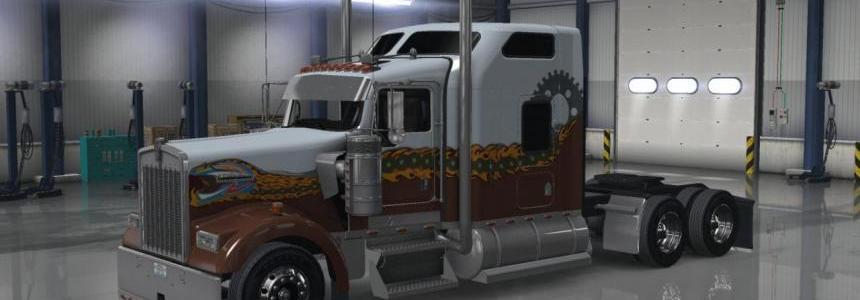 Kenworth W900 Hard Truck Skin