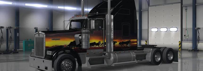 Kenworth W900 Sunset Skin