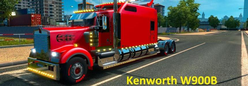 Kenworth W900B Long Edition Fixed by H.Trucker