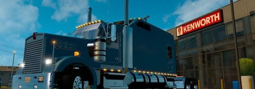 Kenworth W900B Long Fixed v1.1