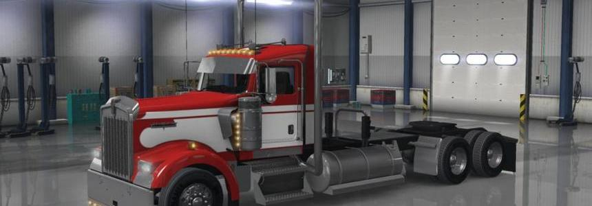 Long Frame For w900 daycab + wing unlocked v1.0