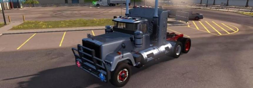 Mack SuperLiner Truck with SMOKE v1.0