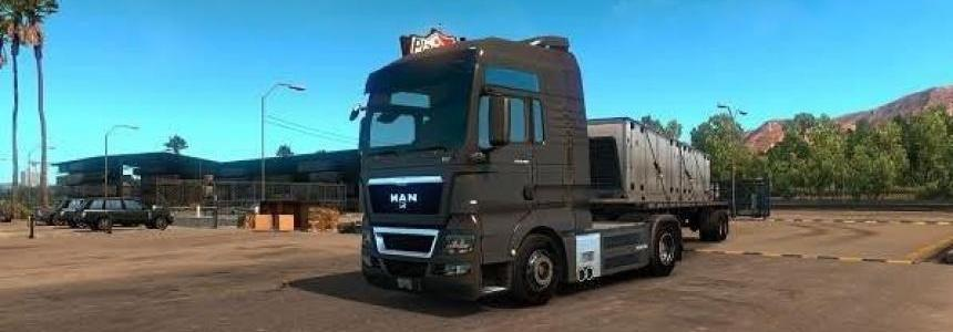 MAN TGX with all Cabins & Accessories