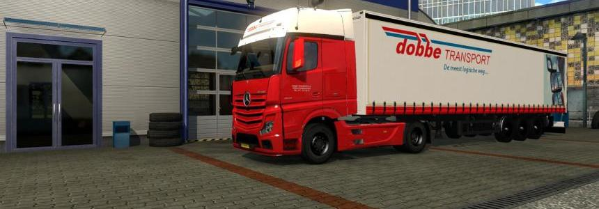 MB Actros MP4 - Dobbe Transport
