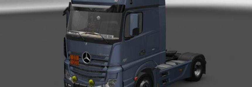 Mercedes Actros MP4 v6.0
