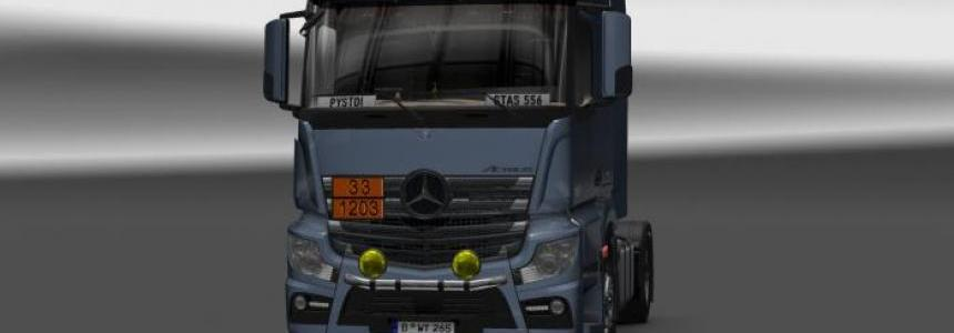 Mercedes Actros MP4 v6.0 1.22.х