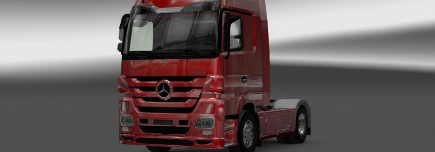 Mercedes-Benz Actros MP3 Interior Exterior Rework v1.1