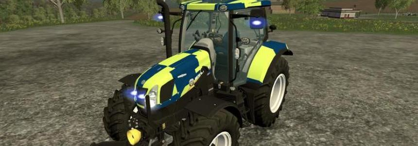 New Holland T6.160 police version v1.0