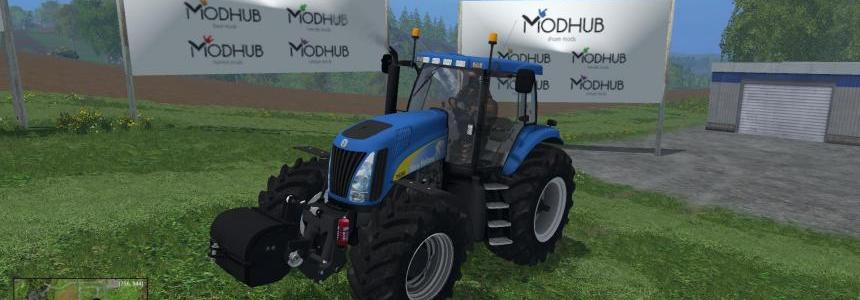 New Holland TG 285 Pack v1.0