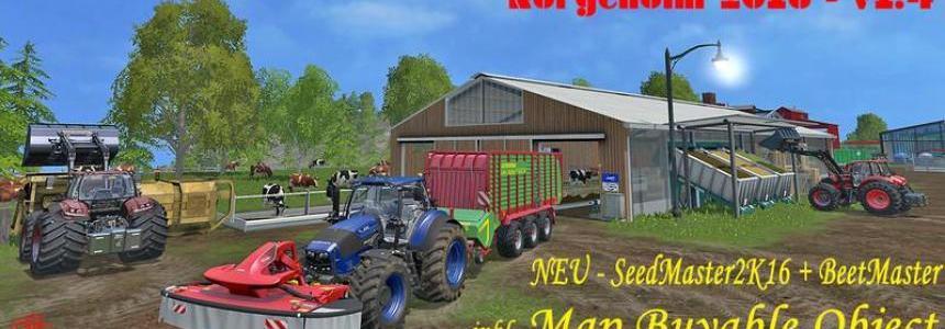 Norge Holm v1.4 / SoilMod & GMK-Mod & MBO