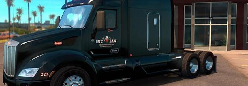 Pete 579 Outlaw Transportation Skin v1.0