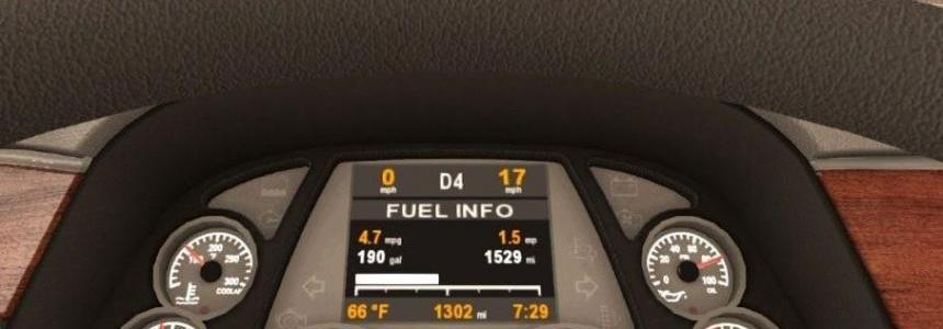 Peterbilt 579 Dashboard v1.1