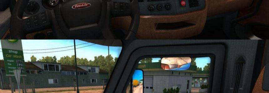 Peterbilt 579 Interior + Engines + Fuel Tank + Gear Box 0.9.1.3