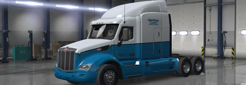 Peterbilt 579 Long Haul Trucking Skin v1.0.0