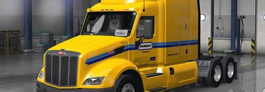 Peterbilt 579 Penske Truck Rental Skin 1.0.0
