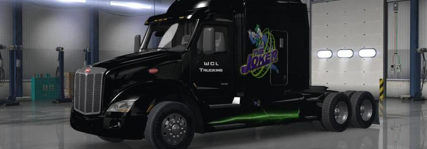 Peterbilt 579 the Joker Skin