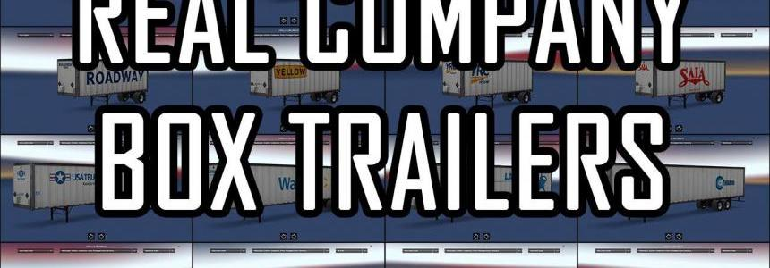 Real Company Box Trailers V1.0