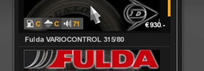 Real Tires Mod v1.0