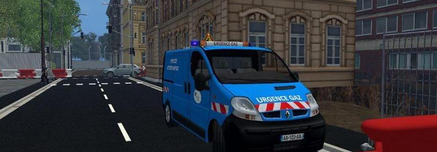 Renault trafic urgence gaz v1