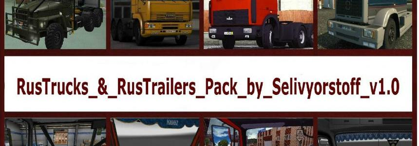 Russian Truck & Trailers Pack Correct Link
