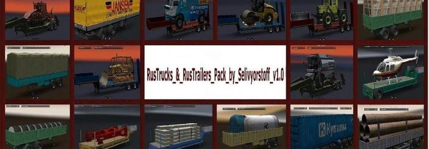 Russian Truck & Trailers Pack
