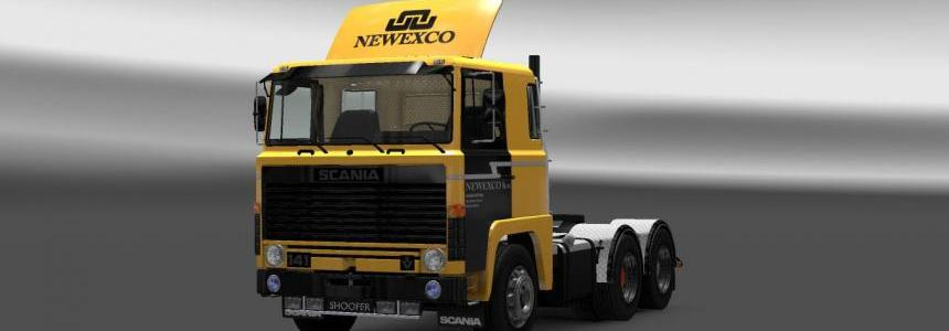 Scania 1-Series Newexco B.V. Skin
