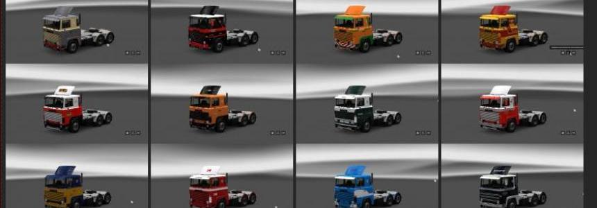 Scania 1-series Skin Pack