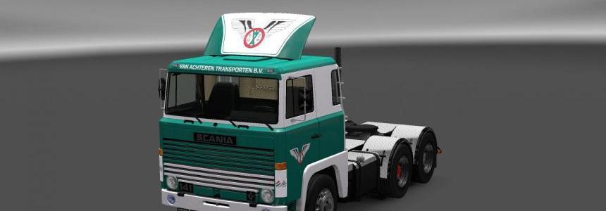 Scania 1-Series Van Achteren Transport Skin