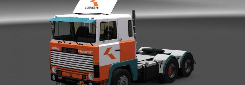 Scania 1-Series Zwaar Transport Skin