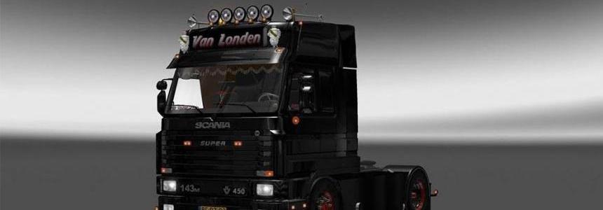 Scania 143m + V8 Sound