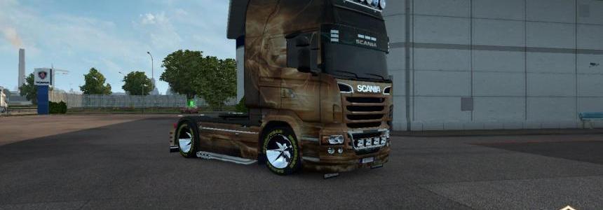 Scania R Stribog Skin 1.22.x