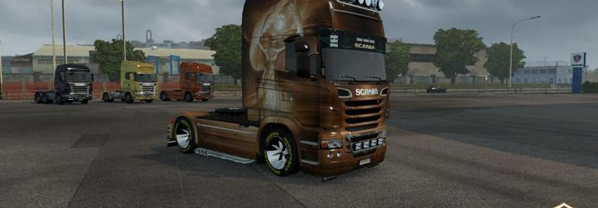 Scania R Swen Princess Skin 1.22.x