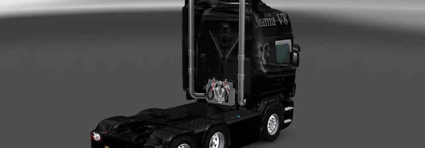Scania RS Ghost V8 Skin