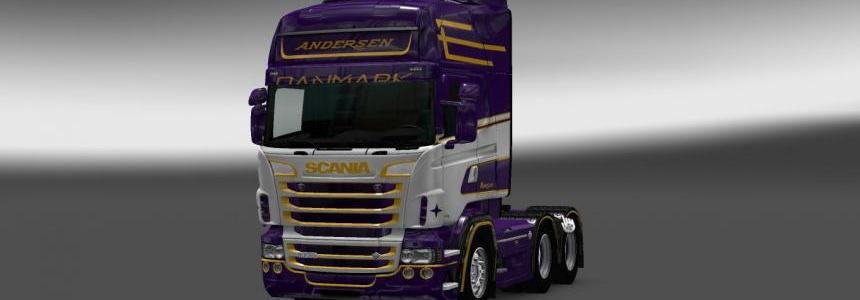 Scania RS RJL Andersen Skin