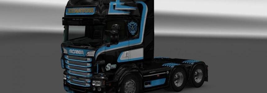 Scania RS RJL D&G Transport Skin 1.22