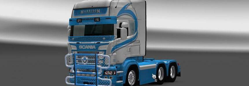Scania RS RJL Harrison Skin
